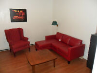 We offer nice furnished Housing Downtown start Jan1st