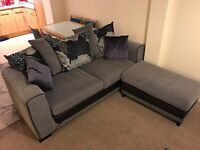 PRICE REDUCTION -SCS 3 Seater Danni Sofa and Footstool