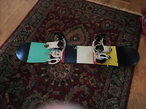 Burton Snowbaord and Burton Bindings