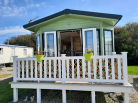 Homely static caravan for sale