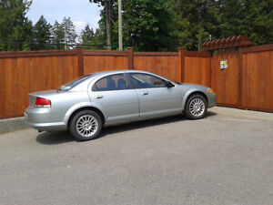 2004 Chrysler Sebring Fwd V6 Only 69,000 km