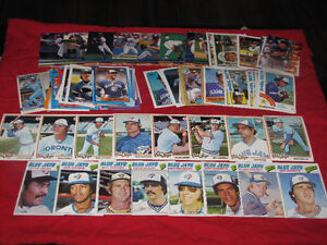 250 Toronto Blue Jays cards (1977-95)