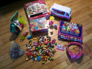 Shopkins toys and accessories!