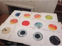 """7"""" inch singles for sale 50p each"""
