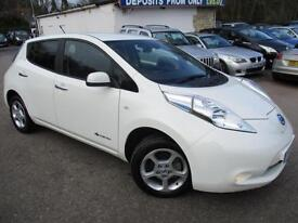 2013 NISSAN LEAF ACENTA ELECTRIC AUTOMATIC SPECIALIST VEHICLE ELECTRICITY