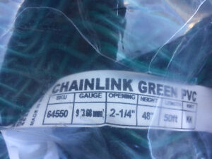 150ft Chainlink Green PVC Fence