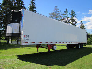 2007 53 foot Utility Reefer Trailers with Thermoking and Carrier