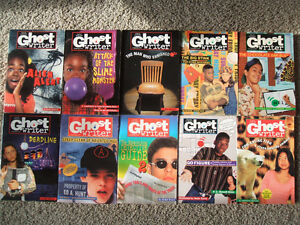 10 Ghost Writer Books-Based on the 1990's TV show