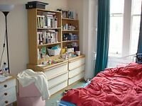 Large Double Room Available in Marchmont Flat 1st September. Non-Smoking/Vaping Non-Partying Only