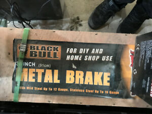 "36"" Metal Brake with Stand - Brand New - Still In Crate!"