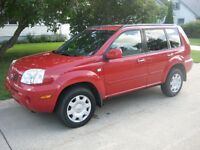 2005 Nissan X-trail XE-4X4 Excellent Condition Only 101,000 kms