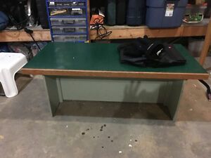sturdy old coffee table