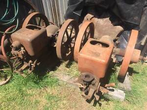 2 x 3HP IHC International Harvester M Type Stationary Engines Petrie Pine Rivers Area Preview