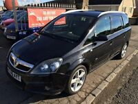 2006 VAUXHALL ZAFIRA SRI, 1 YEAR MOT, WARRANTY, NOT TOURAN GALAXY MAZDA 5
