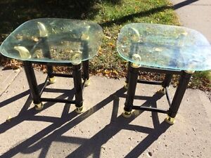 Side tables good condition