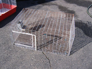 2 Rabbit cages lapin