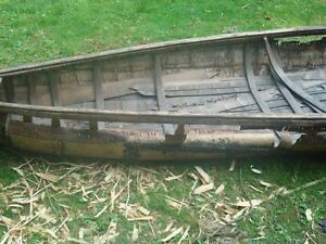 Looking for old wood canoe