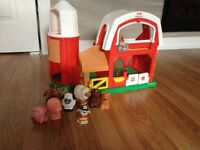 Ferme Fisher Price avec animaux