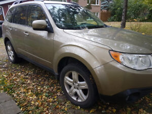2009 subaru forester xt 4wd limited