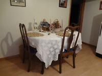 Mohogany Dining Room Set