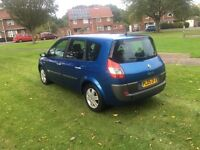 2005 Renault grand scenic 1.6 7 seater 65k very clean inside and out