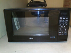 LG LMS1240TB Countertop Microwave Oven (Black)