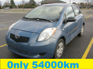 2007 Toyota Yaris Hatchback ONLY 54000KM PRICE  $4850