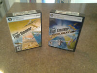 Flight simulator X deluxe edition + expension pack acceleration