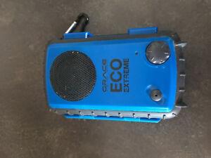 Waterproof audio speaker case