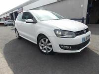 Volkswagen Polo 1.2 60ps 2013.5MY Match Edition 3 Door Petrol 47K FSH White
