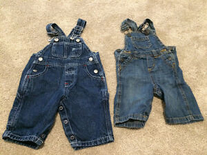New jean overalls