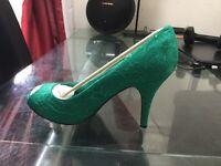 Anne Michelle Women's L2255gt Textile Court Shoes