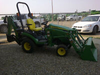 JOHN DEERE NEW 1025R TLB 2014 BLOW OUT SALE Only one left