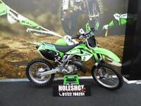 Kawasaki KX 125 Motocross bike