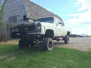1974 Chevy 4x4 bogger