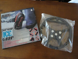 Brand new in box Ice Grip winter boots slip on Size XL London Ontario image 1