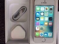 iPhone 5s 16gb White & Gold EE/Orange Sim Locked Boxed