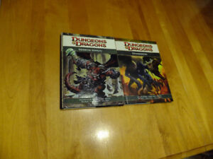 Dungeons and Dragons Monster manuel and Demonomicon