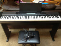 Casio CDP200R - 88-Weighted Key Full-size Keyboard
