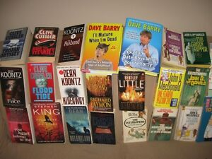 500 Paperbacks/Hard Covers in Excellent Condition