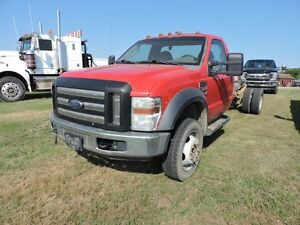 2008 FORD  F-550 SUPER DUTY 2 WHEEL DRIVE DIESEL