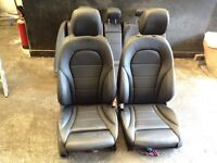 Mercedes benz c class w205 leathers