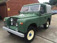 "CLASSIC 1968 LAND ROVER SERIES 2 88"" PICK UP TRUCK TURBO DIESEL 4X4"