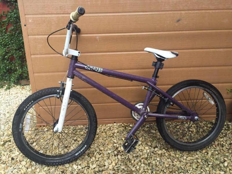 Bmx Purple And White Gt Bike In Bradley Stoke Bristol