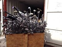 Lot 250+ bâtons golf - Huge lot used golf clubs
