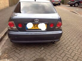 Lexus is200 brake light pair dark insert inside 98-05 breaking spares can post is 200 is300