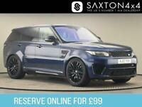 2017 Land Rover Range Rover Sport 5.0 V8 SVR CommandShift 2 4X4 (s/s) 5dr SUV Pe