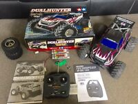 RC Truck Tamiya Dualhunter Rare post available £125ono