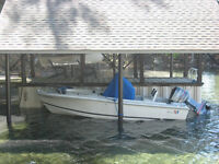 FOR SALE:  WELLCRAFT 18ft Center Console (1989)