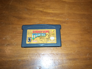 Donkey kong country 2 for gameboy advanced